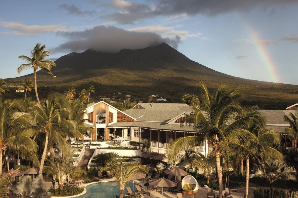 Best resorts for families in the Caribbean and the Bahamas:  Four Seasons Resort Nevis, Nevis