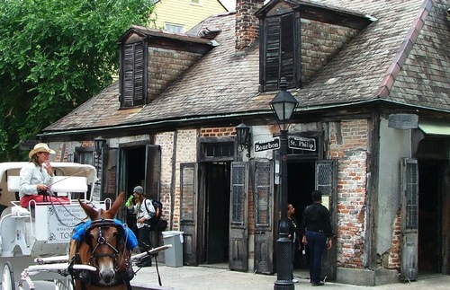 Jean Lafitte's Blacksmith Shop in New Orleans