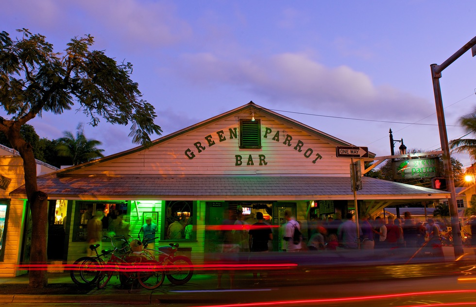Green Parrot Bar in Key West, Florida