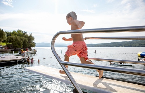 Best Lakefront Hotel Trips for Families in the USA and Canada: Basin Harbor on Lake Champlain, Vermont