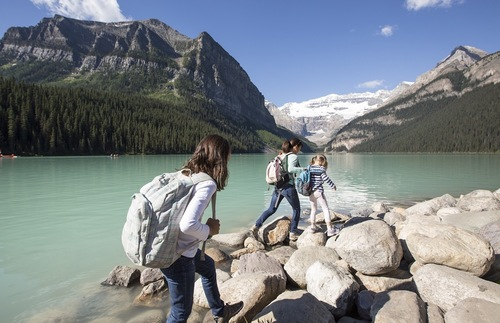 Best Lakefront Hotel Trips for Families in the USA and Canada: Fairmont Chateau Lake Louise, Banff National Park, Canada
