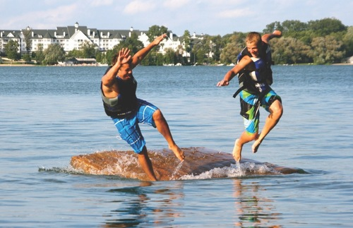 Best Lakefront Hotel Trips for Families in the USA and Canada: Osthoff Resort, Elkhart Lake, Wisconsin