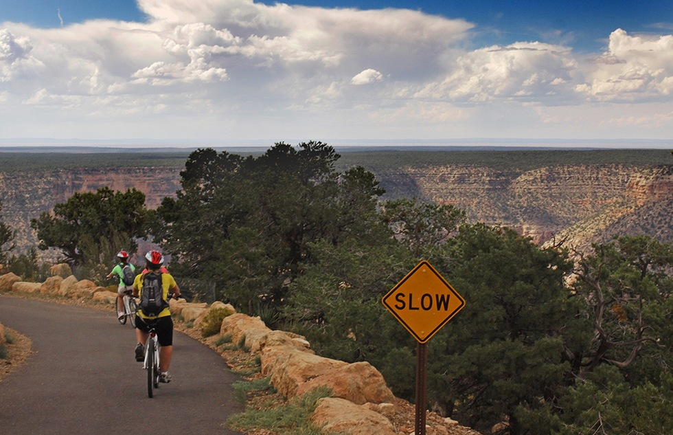 10 Top Grand Canyon Experiences and Tours: Bike the Hermit Road