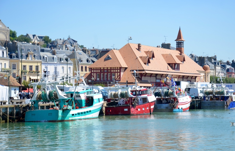 The Prettiest French Seaside Holiday Towns: Trouville-sur-Mer
