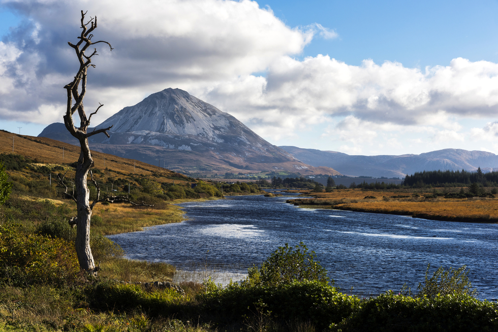 The Best Hikes in Ireland: Errigal mountain, County Donegal