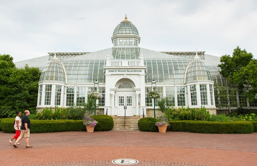 Franklin Park Conservatory and Botanical Gardens in Columbus, Ohio