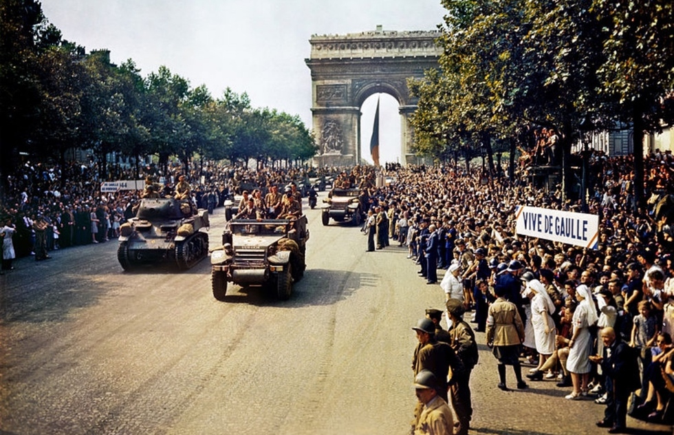 Places where you can still find evidence of World War II in Paris: Avenue des Champs-Elysées