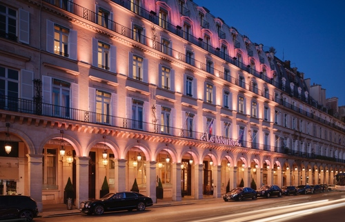 Places where you can still find evidence of World War II in Paris: Le Meurice