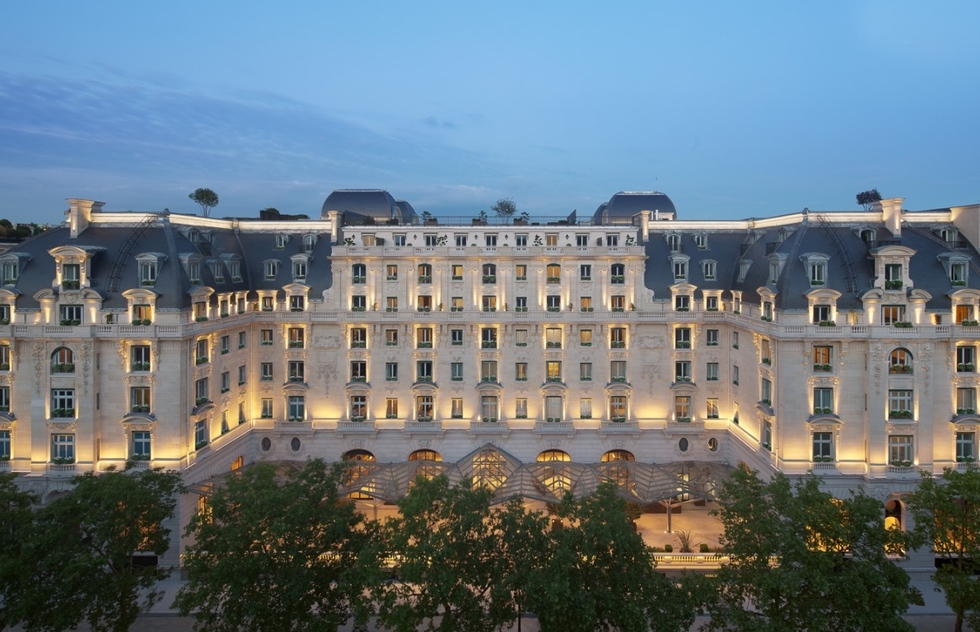 Places where you can still find evidence of World War II in Paris: Hotel Majestic/Peninsula