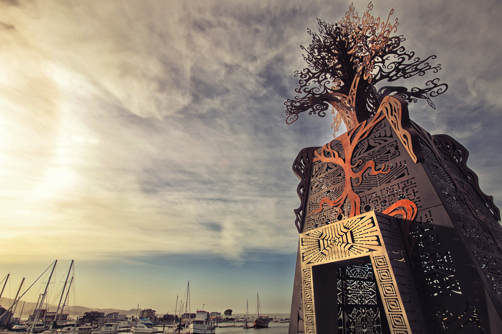 This Harbor Is a Refuge for Burning Man Artwork—Without Burning Man Crowds | Frommer's