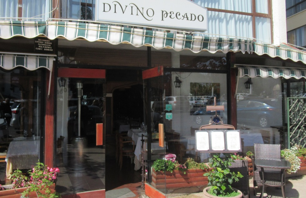Divino Pecado restaurant in Viña del Mar, Chile