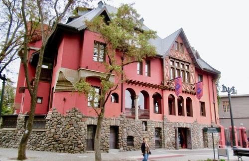 Castillo Rojo in Santiago, Chile