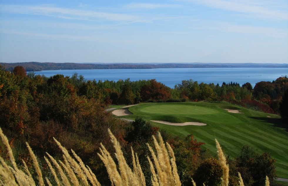 Northern Michigan is a golf mecca.