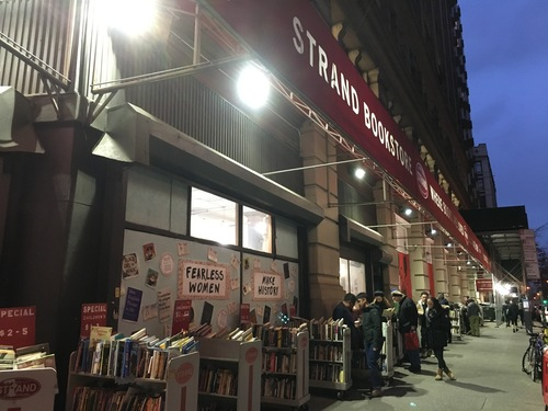 Flip through a book or two at the Strand!