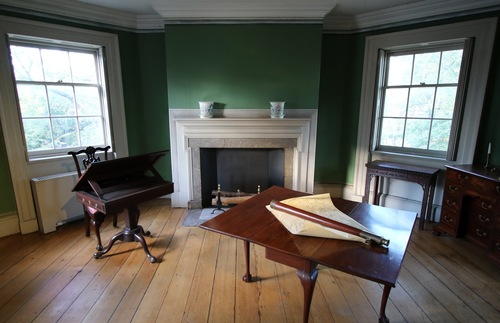 Study at the Morris-Jumel Mansion in New York City