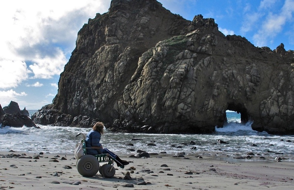 California Improving Coastal Access with New Beach Wheelchairs | Frommer's