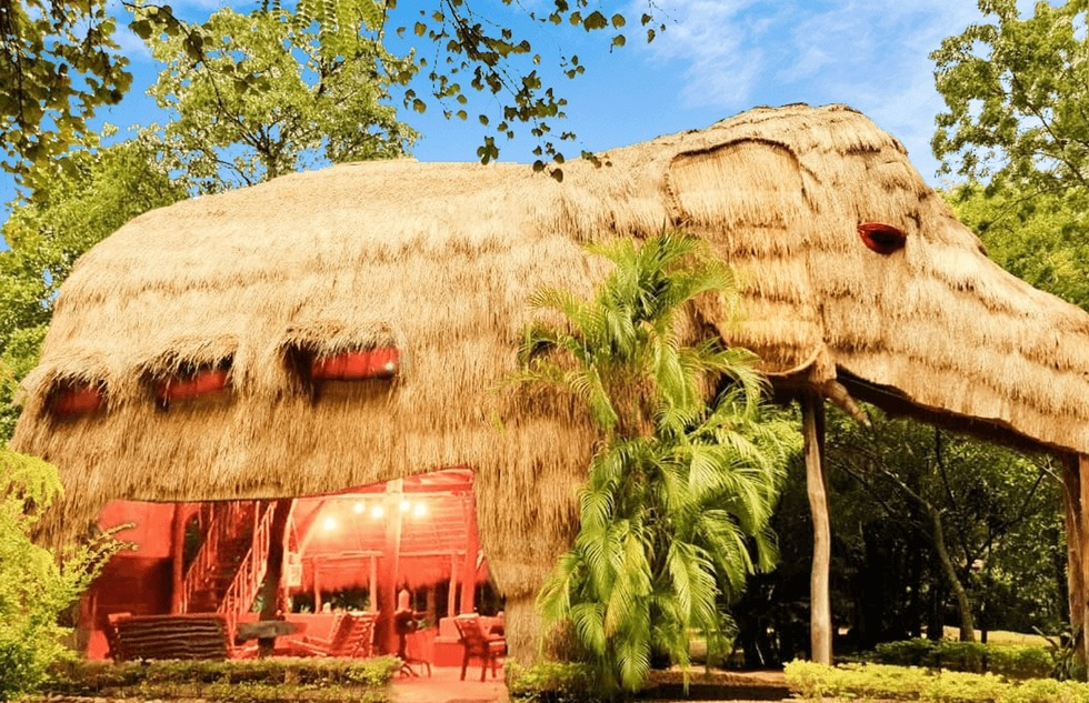 The World's Most Oddly Shaped Hotels: KumbukRiver Eco Extraordinaire, Buttala, Sri Lanka