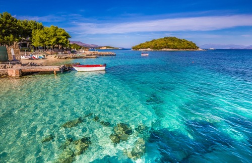 12 Islands to See by Kayak: Ksamil Islands, Albania