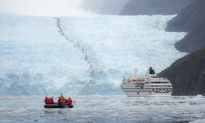 The difference between a mega-cruise and an expedition cruise