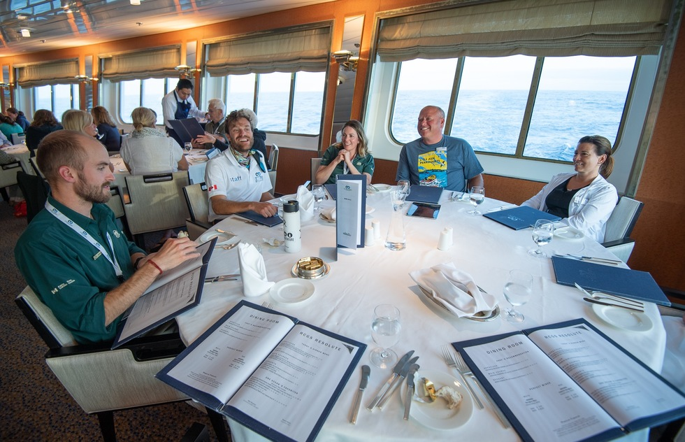 Expedition cruises offer an easy way to meet other travelers