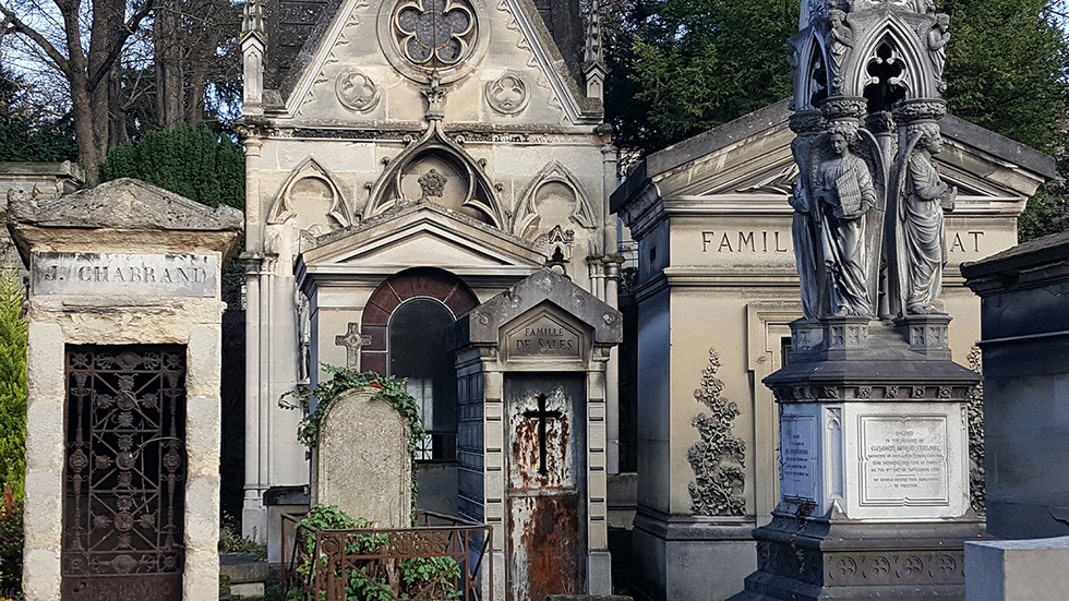 Père-Lachaise Cemetery in Paris: A history of design in one place