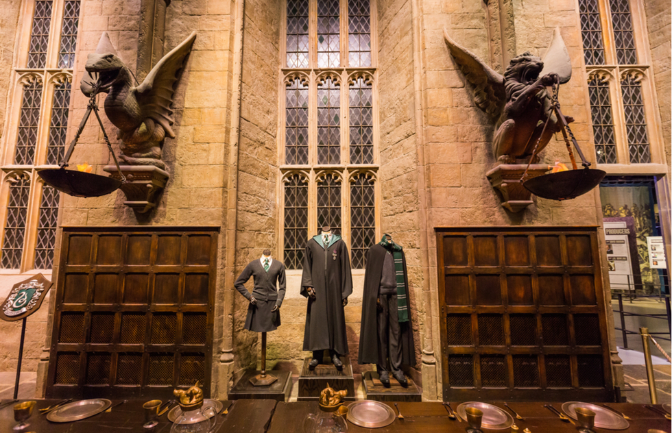 Sets and costumes at the Warner Bros. Studio Tour London - The Making of Harry Potter