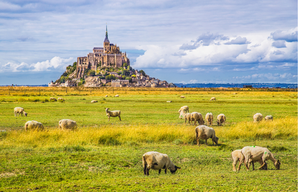 Mont-St.-Michel in France
