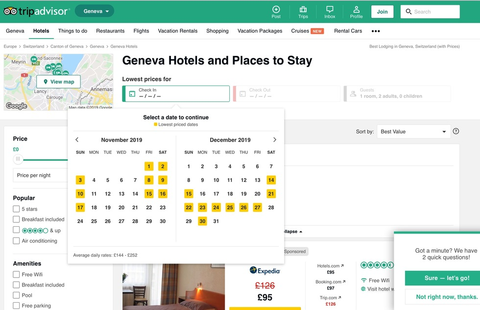 Best Hotel Reservation Websites: 2: TripAdvisor.com