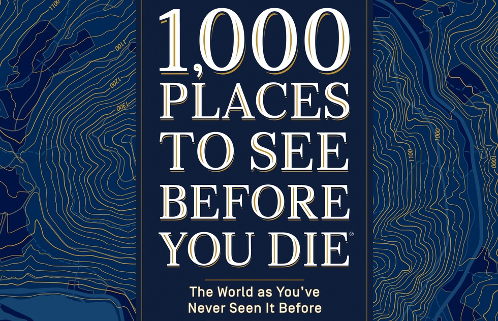 1,000 Places to See Before You Die travel coffee table book by Patricia Schultz