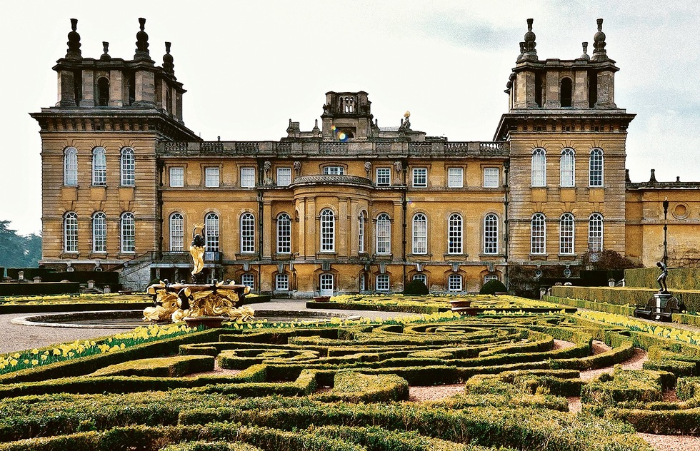 Blenheim Palace in Oxfordshire, England