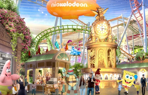 Nickelodeon's New Indoor Theme Park Is the Biggest in the U.S. | Frommer's
