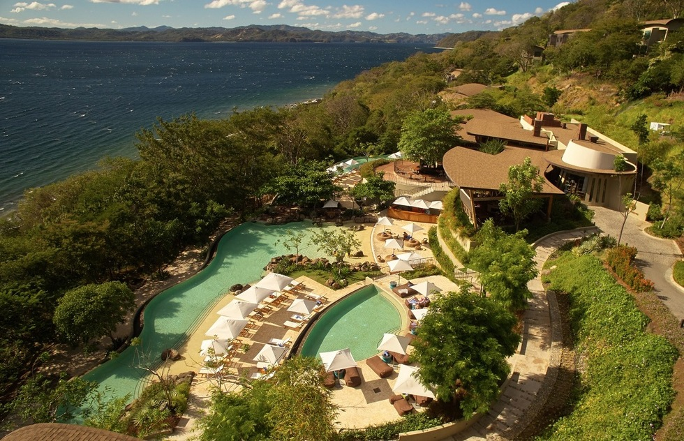 On the Peninsula Papagayo, the Andaz Costa Rica leads families on eco-friendly tours through rainforests, reefs, and fauna