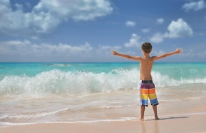 Beach resorts with kid's activities are within easy reach of the U.S. in the Caribbean, Bermuda, and Costa Rica