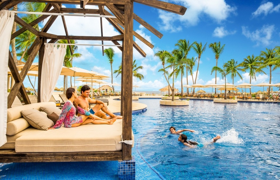 Jamaica's Hyatt Ziva Rose Hall is especially suited to families with kids aged 4 to 12