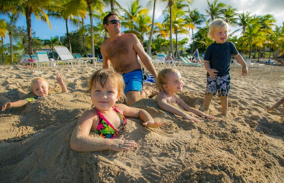The Buccaneer resort in St. Croix has spacious grounds and thoughtful features for kids