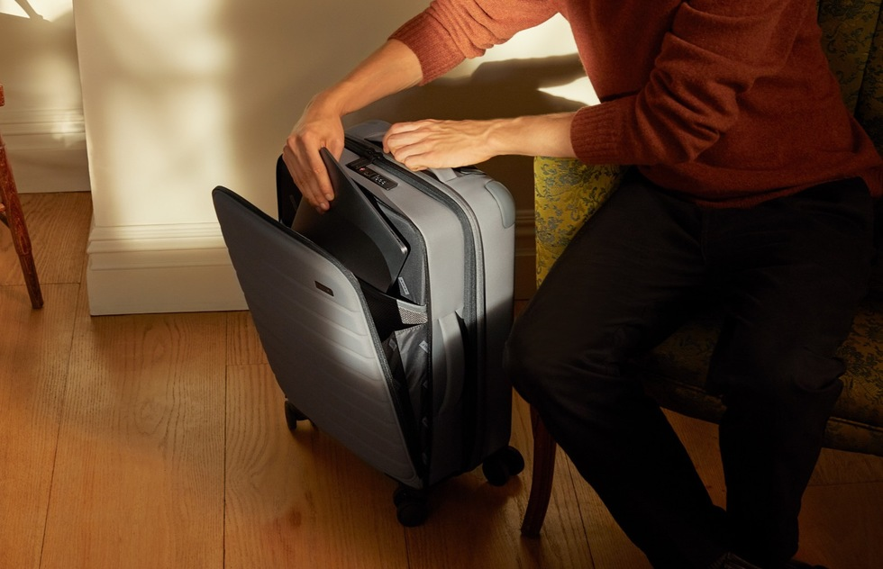 Christmas Holiday travel gift guide: Away Expandable Bigger Carry-On luggage
