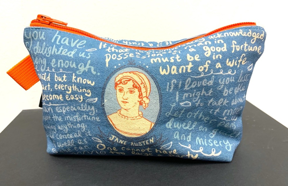 Christmas Holiday travel gift guide: Jane Austen Bag