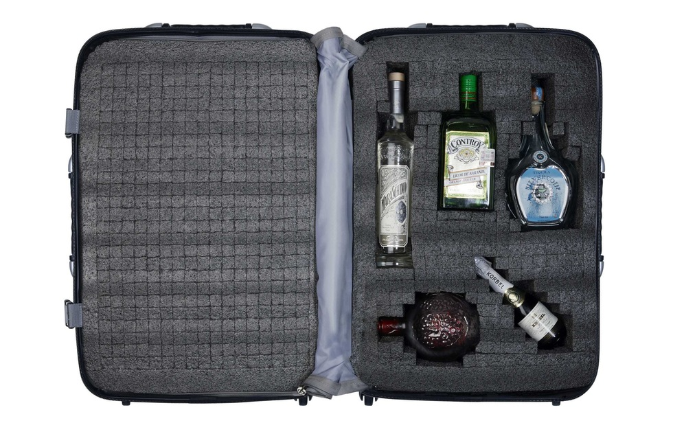 Christmas Holiday travel gift guide: VinGardeValise wine and bottle transport system