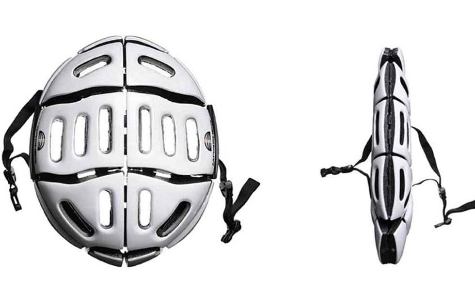 Christmas Holiday travel gift guide: Morpher folding helmet