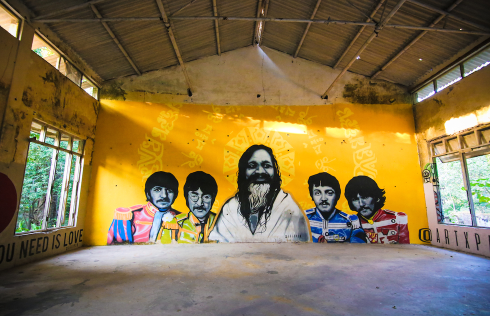 See What The Beatles' Abandoned Indian Ashram Looks Like Today | Frommer's