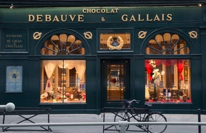 Debauve & Gallais chocolate shop in Paris