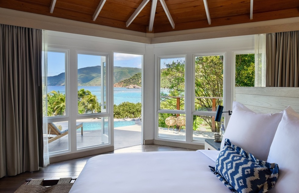 Best New Caribbean Resorts for Families in 2020: Virgin Gorda, BVIs: Rosewood Little Dix Bay