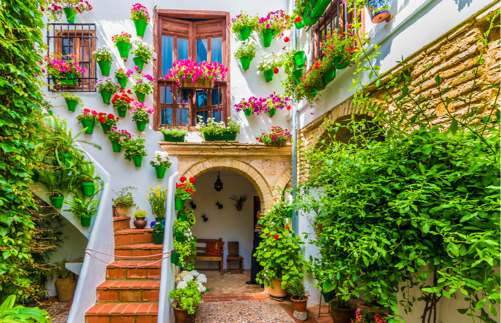Courtyard in Córdoba, Spain