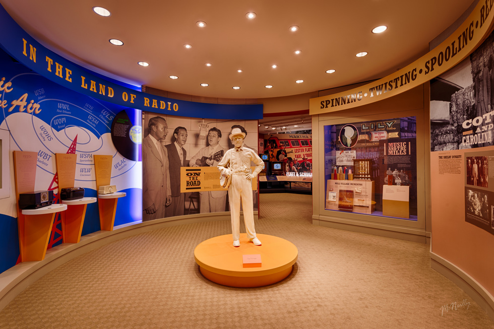Country Music Landmarks across America: Earl Scruggs Center, Shelby, North Carolina