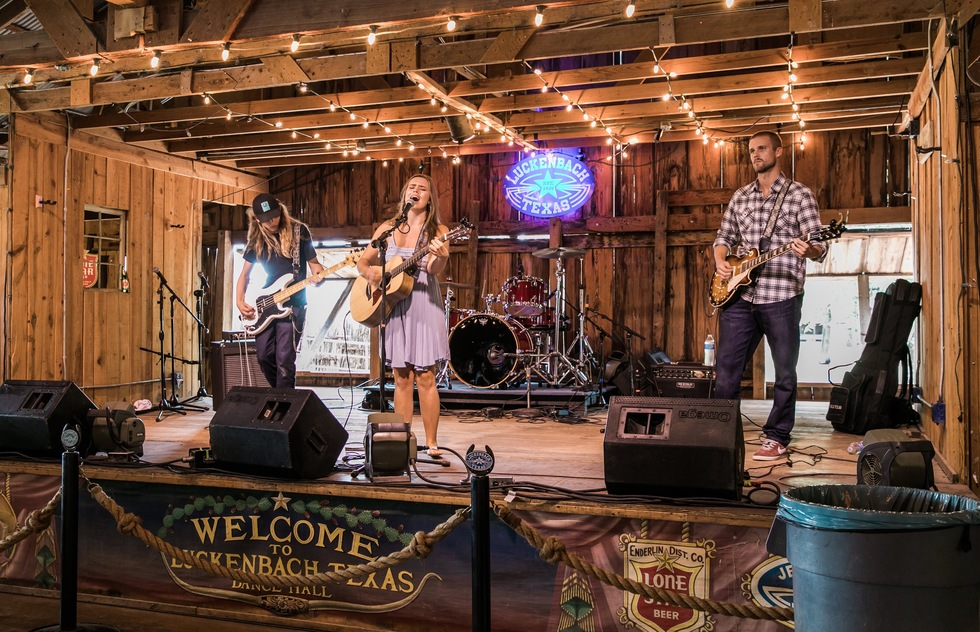 Country Music Landmarks across America: Luckenbach Dance Hall, Luckenbach, Texas