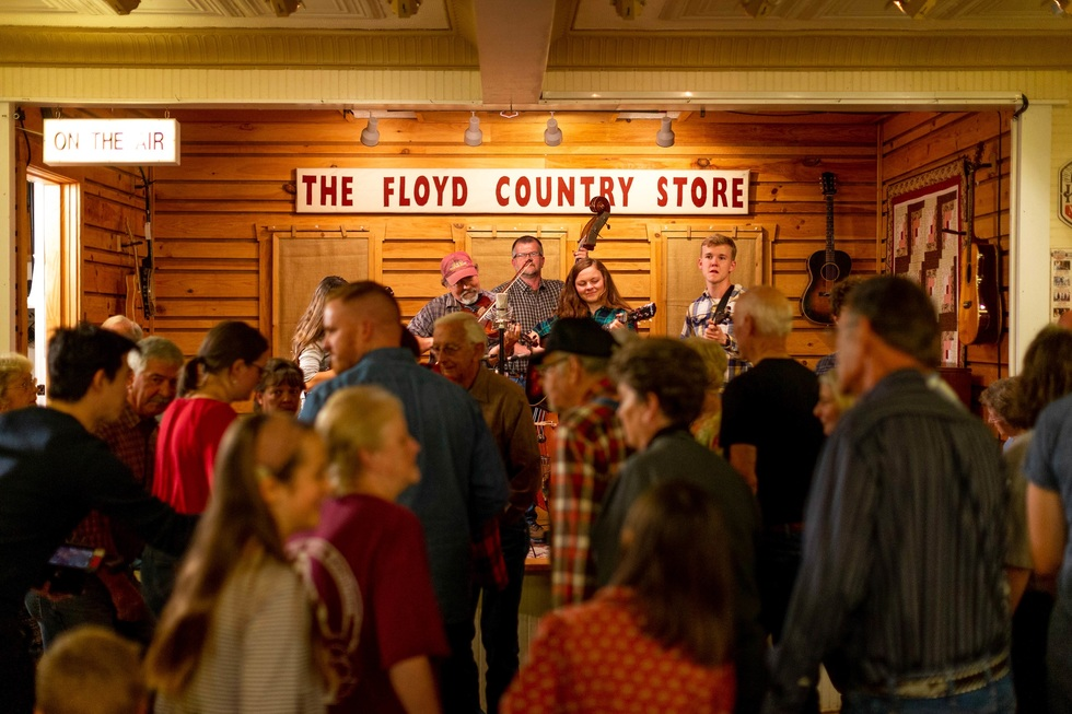 Country Music Landmarks across America: Floyd Country Store, Floyd, Virginia