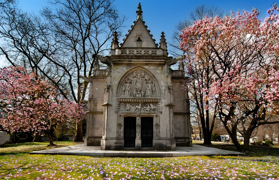Woodlawn Cemetery in the Bronx, New York City