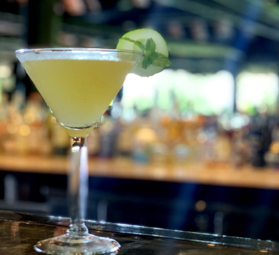 Great cocktail recipes from great hotel bars: Cucumber Chill, Jean-Michel Cousteau Resort, Fiji