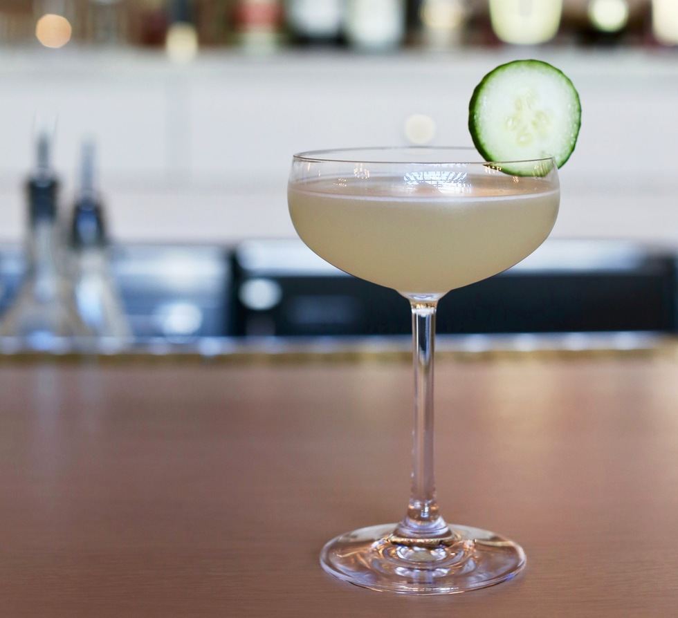Great cocktail recipes from great hotel bars: Adler & Sullivan, Hotel Zachary, Chicago