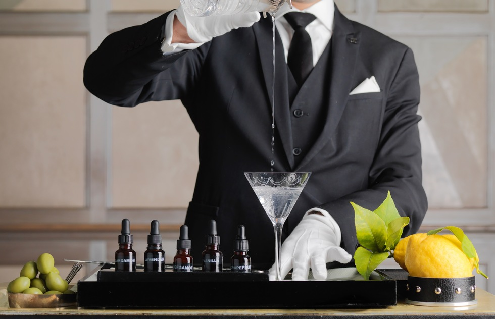 Great cocktail recipes from great hotel bars: The Connaught Martini, London